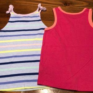 Cat & Jack Shirts & Tops - Cat & Jack tank tops-lot of 2. Size 3T